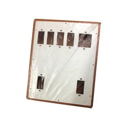 Lufa White Electrical Switch Board, For Electric Fitting