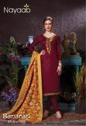 Nayaab Banarasi Designer Salwar Suit
