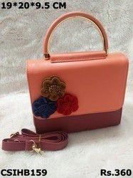 Cs International Pu Beautiful Handbag Rs 360 Piece Craftstages Private Limited Id 19315673688