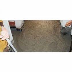 Brown Foam Concrete Flooring Service, For Construction