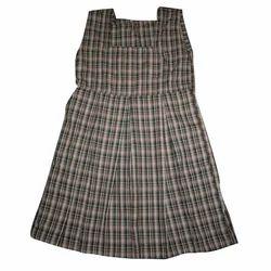 Girls Checked School Uniform