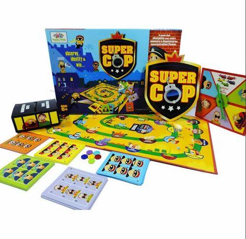 super cop board game fun game at rs 346 kit majedar board wale