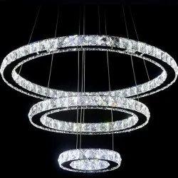 Three Rings LED Pendant Chandeliers