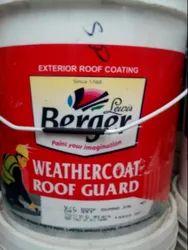 Berger Weather Coat Roof Guard, Packaging Type: Bucket