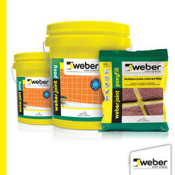 Weberjoint Poxy Paste Grouts for Tiling, Pot Life: 45 Minutes