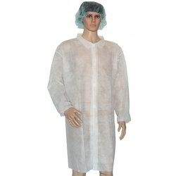 Non Woven Disposable Lab Coat