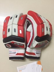 Strap Orange SO Ultra Cricket Batting Gloves, Size: Medium