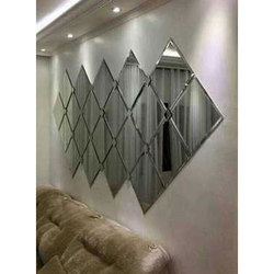 Interior Decorative Designer Glass, Packaging Type: Box