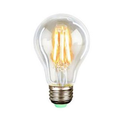 Warm White Round Incandescent Electric Bulb