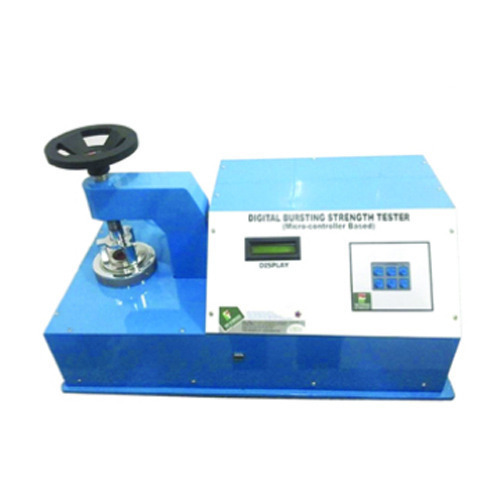 Digital Bursting Strength Tester