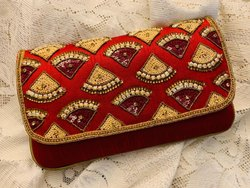 Evening Handwork Clutch Bag