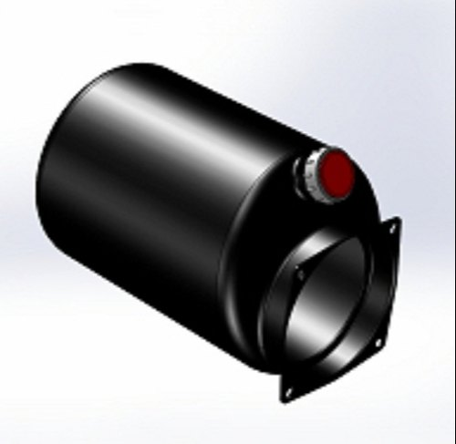 Steel Hydraulic Tank-Round Tank for Mini Hydraulic Power Pack