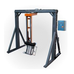 Two Leg Arm Type Pallet Stretch Wrapping Machine