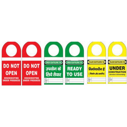 Scaffolding/Inventory Tag with Round SH-T-SF/I