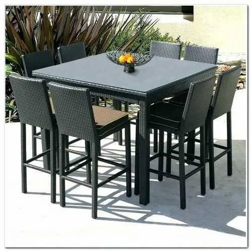 8 Seater Garden Dining Table