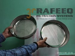 3R Round Perforated Sheet Test Sieves, Material Grade: 316L, Size: 8