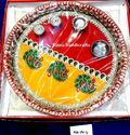 Decorated Pooja Thali