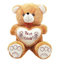 70cm Brown Big Heart Teddy Toy