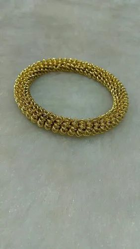 Brass pbci Golden Bangle