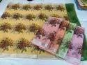 Kota doria printed saree