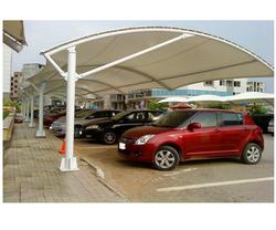 Arc Type Car Parking Shed