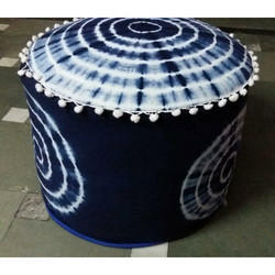 Cloth Round Pouf