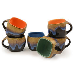 Style My Way Ceramic Small Tea & Coffee Cups