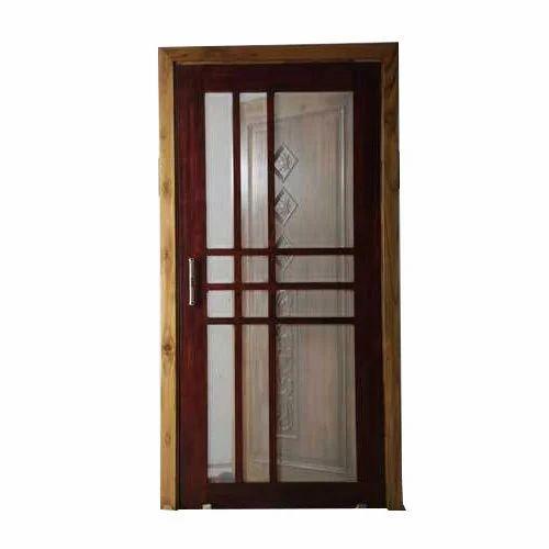 Modern Solid Wood Jali Door