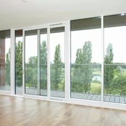 Exterior UPVC Sliding Glass Door