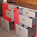 Laminated Modular Kitchen Drawer