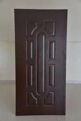 Wood Brown Durian Laminate Door, Wooden