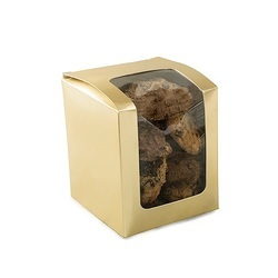 19Gd Cookie Box Small Stand-Up Golden