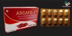Ferrous Ascorbate with Folic Acid, Vitamins & Zinc Tablets