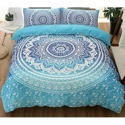 Mandala Printed Bed Cover