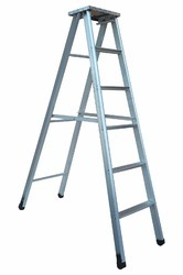 Aluminium Self Support Extendable Industrial Ladder