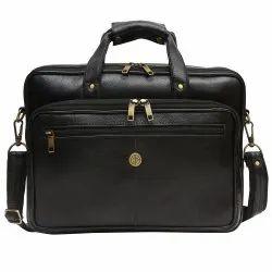 Hammonds Flycatcher Original Bombay Brown Leather 15.6 inch Laptop Messenger Bag LB119BL