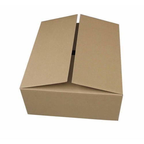 Rectangular Plain Corrugated Box