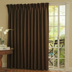Plain Door Curtain