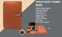 Diary Power Bank (Popup)