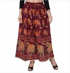 Traditional Jodhpuri Printed Skirt