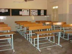 Yaksh Rectangular School Furniture Bench & Table