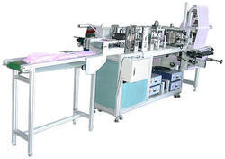 Automatic Doctor Surgical Cap Making Machine