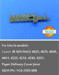 Paper Delivery Joint OEM PN : FC0-2593-000 For use in models: Canon IR ADVANCE 4025, 4035, 4045