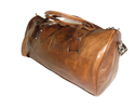 Genuine Leather Duffel Travel Bag