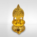 Mantra Gold Plated Kamakshi Villaku Lamp