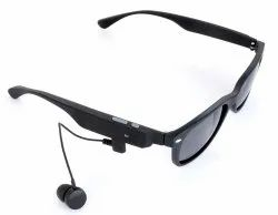 Mobilegear Wayfarer Bluetooth Sunglasses Polarized Lenses Wireless Stereo Bt4.1 Headset