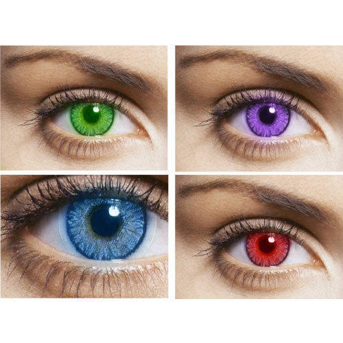 Colored Contact Lenses At Rs 300 Pair Colored Contact Lenses Id 9515951312