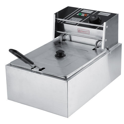 THE URBAN KITCHEN 2300W 8L Commercial Electric Countertop Stainless Steel Deep Fryer, Capacity: 8ltr