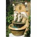 Fiber Horse Sculpture