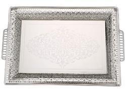 Rema Plastic Platinum-Designer-Tray, Size: Medium, for Home